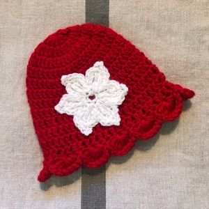 Made with Love homeade Crochet Kids Hat